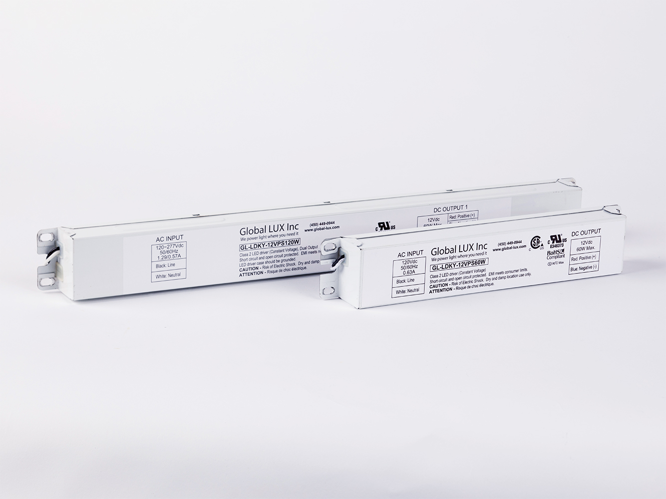 60W-120W-180W Power Supplies